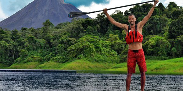 Arenal Tours Lake Stand Up Paddle Boarding